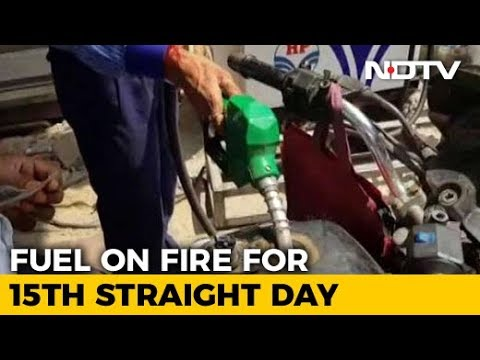 Petrol, Diesel Prices Hiked For 15th Day In A Row