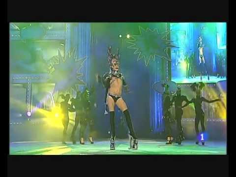 Show intermedio. Drag Circus. Gala Drag Queen 2012 Las Palmas de Gran Canaria 22/24