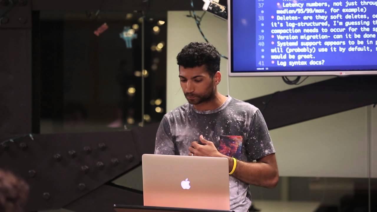 Lightning talk: Matt Blair - An operator's look at RethinkDB