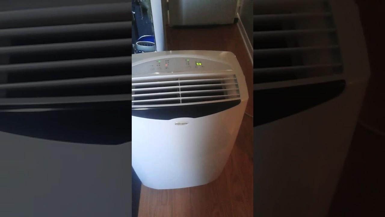 Danby Premiere DPAC12099 12000 BTU 12000BTU PORTABLE AIR CONDITIONER UNIT ON WHEELS REVIEW - YouTube