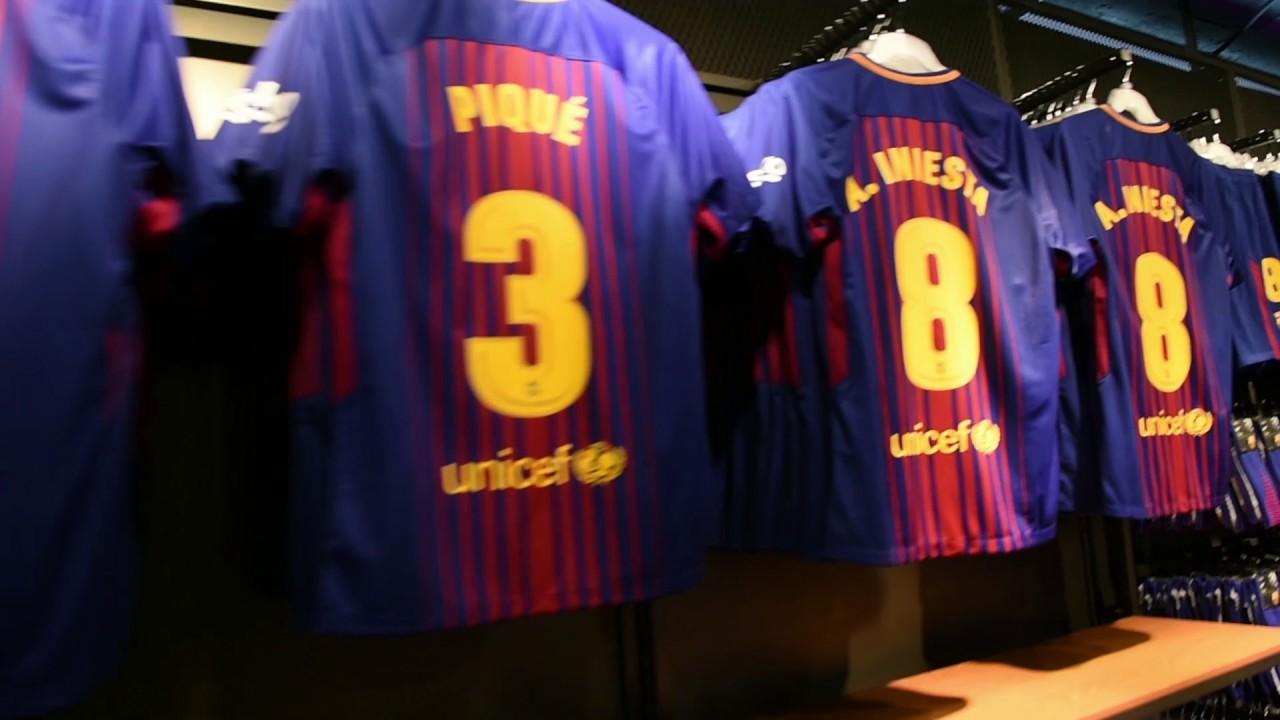 La nueva camiseta del Barça ya está a la venta - YouTube 29b16859ec709