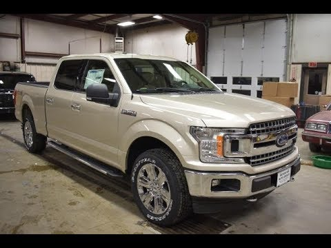 2018 F350 King Ranch >> 2018 White Gold Metallic Ford F150 XLT Long Box FT6383 Motor Inn Auto Group - YouTube
