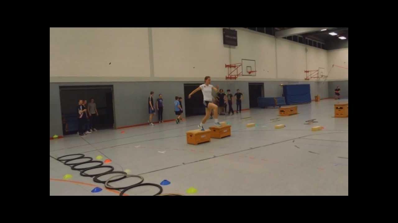station 2 - grundlegende sprungschulung in schule und verein