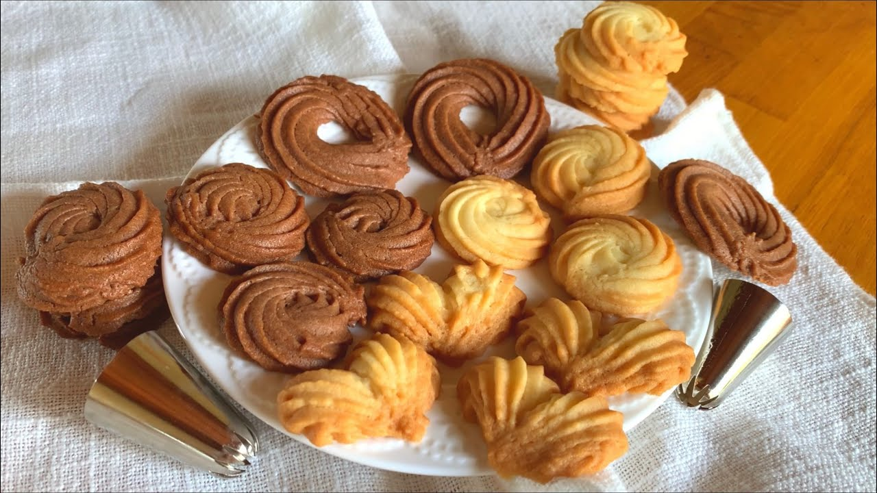 卵白消費にも♡絞り出しクッキーの作り方 squeezed cookies recipe
