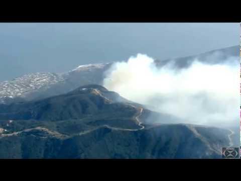 "Topanga Canyon Fire 6-29-17 ""California Burning"""