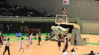 2016 女子決勝 埼玉vs長崎 3Q2 ジュニアオールスター 中学バスケ