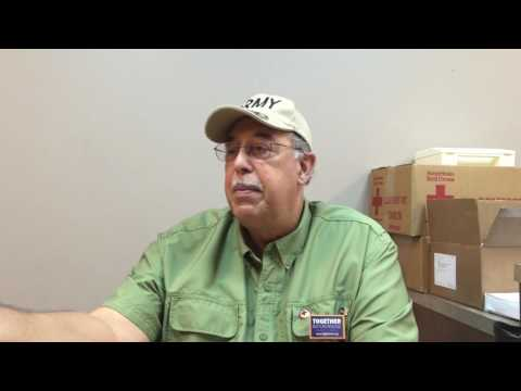 General Honoré, a proud Red Crosser, on being hospitable