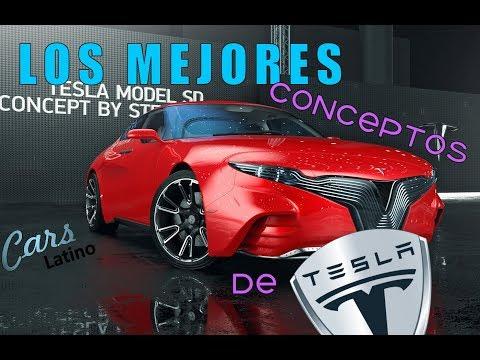 Los Mejores Conceptos de Tesla Motors *CarsLatino*