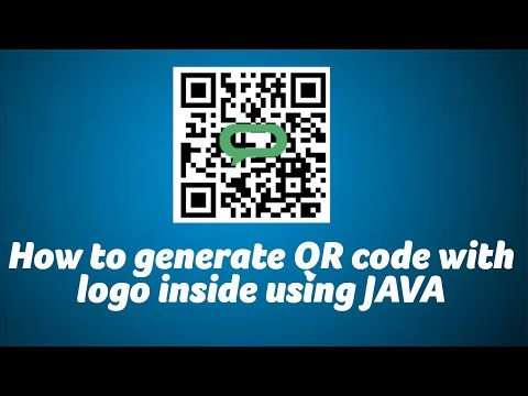 How to generate QR code with Image using JAVA - ChillyFacts