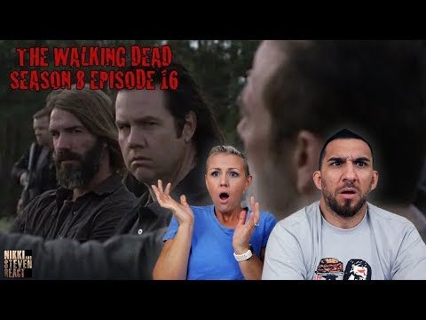 "The Walking Dead Season 8 Episode 16 ""Wrath"" Season Finale REACTION - Part 1"