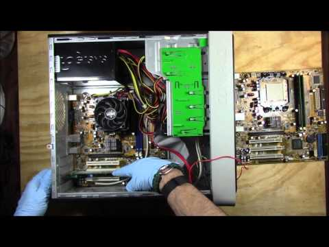 Compaq Pressario SR2034NX Motherboard Removal Replacement And Install Complete