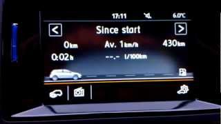 Volkswagen Golf VII 1.4 TSI 122 BHP MFA Premium and Composition Colour radio system presentation