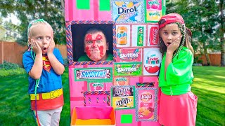 Pretend Play Giant Vending Machine Kids Toys