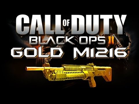 Black Ops 2 Online - Gold (Diamond) M1216 - THE CQC BEAST ... M1216 Gold