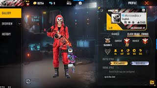 Road To Top 1 Dj Alok Rank Push with Chrono Grandmaster Free Fire Live Rank Push - With Actionbolt