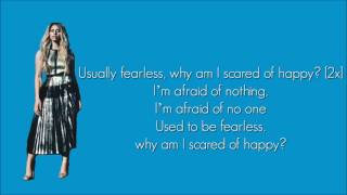 Fifth Harmony - Scared Of Happy (Lyrics)