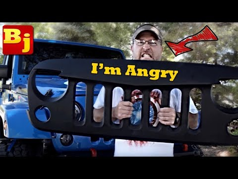 How to Install an ANGRY Grille on Your Jeep JK…Mall-Rated MADNESS!