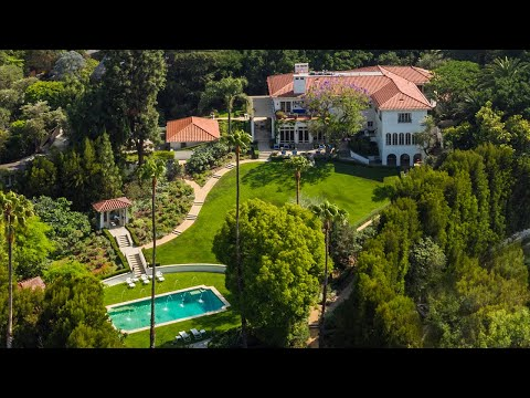 The Most Legendary Estate in Hollywood  2000 De Mille Drive