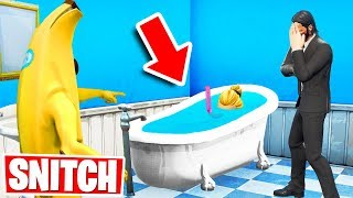 SNITCH to SURVIVE *NEW* Hide & Seek Gamemode in Fortnite Creative