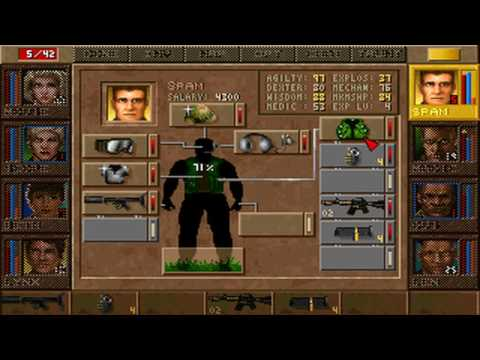 Jagged Alliance: Deadly Games - Mission 34
