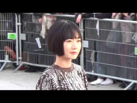 Bae Doona @ Paris Fashion Week 7 march 2017 show Louis Vuitton / mars #PFW