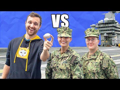 EGG DROP - U.S. Navy vs William Osman