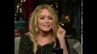 Mary-Kate Olsen - David Letterman 26. Juni 2008