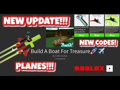 New Plane Blocks Biggest Update Ever Roblox Build A Boat For