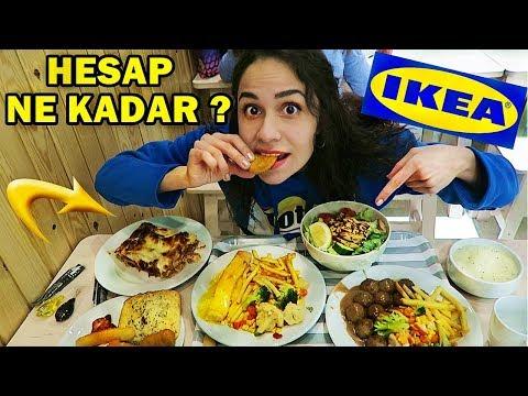 IKEA'DAKİ TÜM MENÜYÜ SİPARİŞ ETTİM !! (HESAP NE KADAR?)