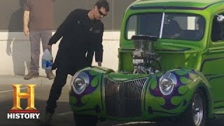 Counting Cars: Danny and George Have a Burnout Competition   History