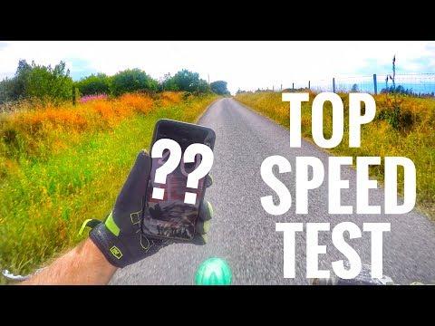 110cc Pit Bike Top Speed Test (Mph)