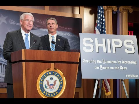 U.S. Sen. Wicker & U.S. Representative Wittman Hold Press Conference on SHIPS Act