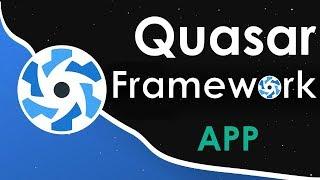 Quasar Vue.js Tutorial - Let's Build An App!
