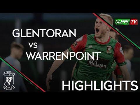 Glentoran vs Warrenpoint Town - 23rd April 2019