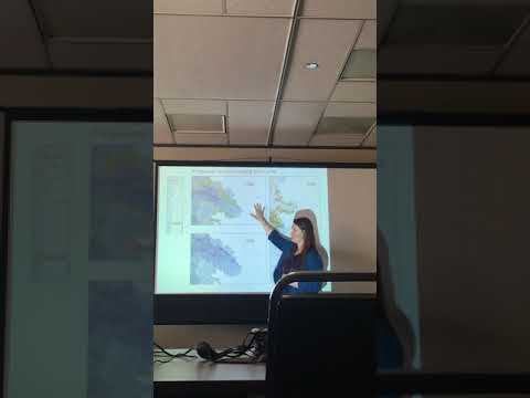 3-6-18  MARINE RESOURCES  COMMITTEE   Dr.Cynthia  Catton  presentation  on Purple Sea  Urchins
