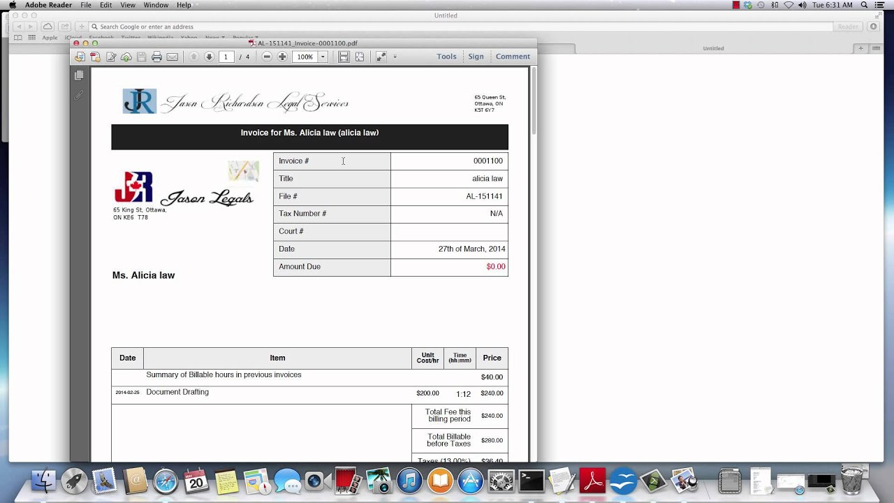 q79 how do i customize my invoice receipts and other documents in