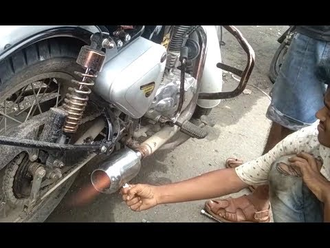 how to make fire shot in any bike tutorial Royal Enfield Pathaka | bullet singh boisar