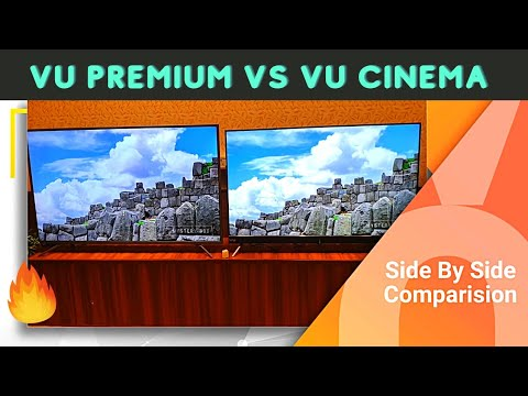 Vu Cinema vs VU Premium Android 4k TV 2020 | which one you should buy?