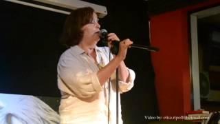Rosana Hernández, recitando: Seres de papel. 1ª Ronda 27 Junio 14