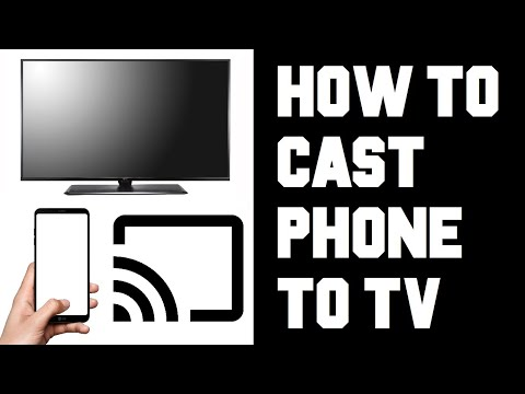 How To Cast Phone To TV - How To Cast Your Phone To Your TV - Screen Mirror Android IPhone To TV