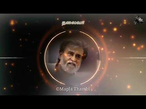 Rajini present mass dialogue |Rajini dialogues status video |Mapla Thambi