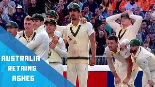 Australia Retains Ashes -Beat England by 185 runs | Celebrations and Reactions