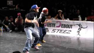 JUSTE DEBOUT 2012   JAPAN  HIPHOP - FINAL
