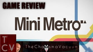 Game Review - Mini Metro