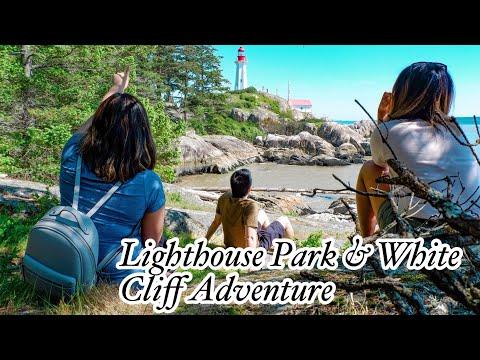 Travel Vlog No. 13 | Lighthouse Park & White Cliff Point Adventure 2018
