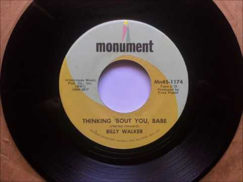 Thinking About You Babe , Billy Walker , 1969
