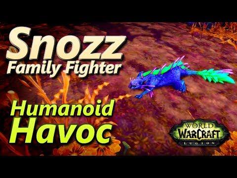 Snozz Humanoid Havoc
