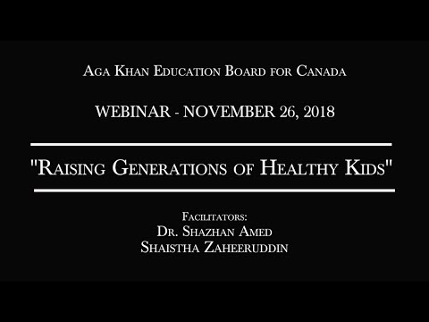 Aga Khan Education Board Canada - Webinars   the Ismaili