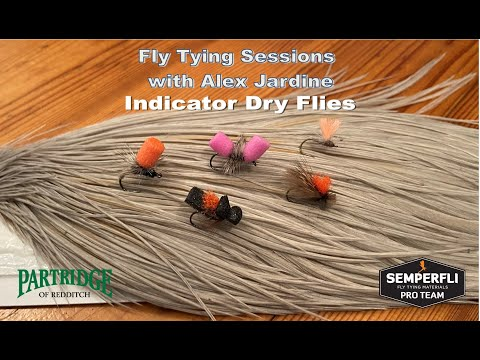 Fly Tying Sessions with Alex Jardine: Indicator Dry Flies