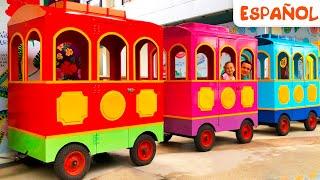Ruedas en el autobús - Canciones Infantiles | Maya y Mary